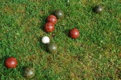 De Ballen van Bocci Stock Foto