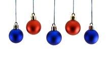 De ballen van Christmast Stock Fotografie