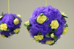 De ballen van de bloem Stock Afbeelding