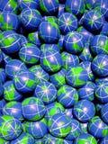 De ballen van de bol Royalty-vrije Stock Afbeeldingen