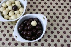 De Ballen van de chocolade Royalty-vrije Stock Foto's