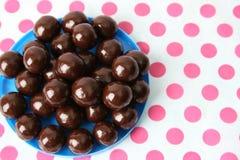 De Ballen van de chocolade Royalty-vrije Stock Foto