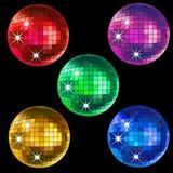 De ballen van de disco Stock Afbeelding