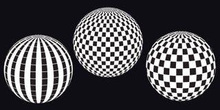 De ballen van de disco. Royalty-vrije Stock Fotografie