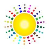De ballen van de disco royalty-vrije illustratie