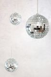De ballen van de disco Stock Foto's