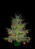De ballen van de kerstboom Stock Afbeelding