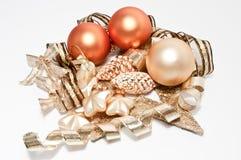 De ballen van de kerstboom Royalty-vrije Stock Foto