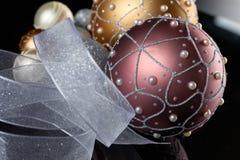 De Ballen van de kerstboom Stock Fotografie