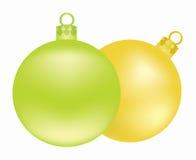 De ballen van de kerstboom Stock Foto