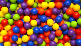 De ballen van de kleur Stock Fotografie