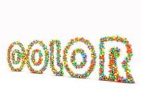 De ballen van de kleur royalty-vrije illustratie