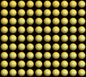 De ballen van de loterij Stock Afbeeldingen