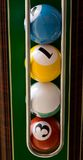 De ballen van de pool Stock Foto