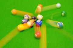 De ballen van de pool Stock Afbeeldingen
