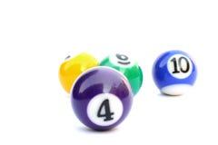 De ballen van de pool Royalty-vrije Stock Afbeelding