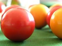 De Ballen van de pool Stock Foto's