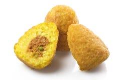 De ballen van de rijst Stock Foto