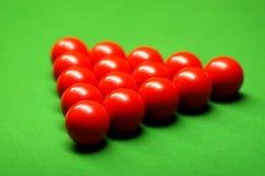 De ballen van de snooker royalty-vrije stock fotografie
