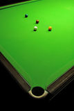 De ballen van de snooker stock afbeeldingen