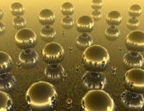 De ballen van de spiegel Stock Fotografie