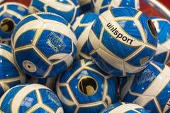 De ballen van de sport Stock Foto's