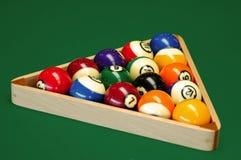 De ballen van het biljart Royalty-vrije Stock Afbeeldingen