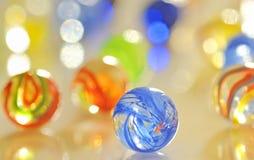 De ballen van het glas Stock Foto
