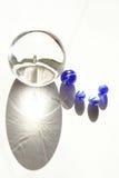 De ballen van het glas Stock Afbeeldingen