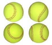 De ballen van het honkbal. Stock Afbeelding