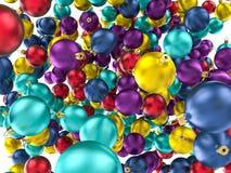 De ballen van het Kerstmisornament Royalty-vrije Stock Afbeelding