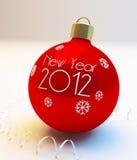 De ballen van het nieuw-jaar Royalty-vrije Stock Foto's