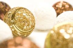De ballen van het nieuwjaar Stock Foto