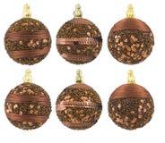 De ballen van het nieuwjaar Royalty-vrije Stock Afbeelding