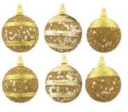De ballen van het nieuwjaar Stock Afbeeldingen