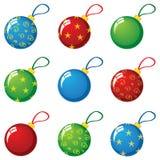 De ballen van het nieuwjaar Royalty-vrije Stock Foto's