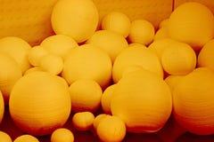 De ballen van het polystyreen stock foto's