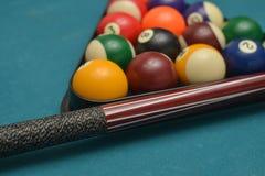 De Ballen van het poolbiljart Royalty-vrije Stock Foto's
