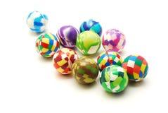 De ballen van het stuk speelgoed royalty-vrije stock afbeelding