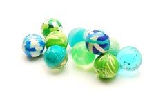 De ballen van het stuk speelgoed stock afbeelding
