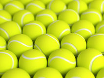 De ballen van het tennis Stock Afbeeldingen
