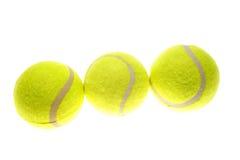 De ballen van het tennis Stock Afbeelding