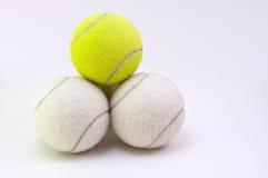 De ballen van het tennis Stock Foto's