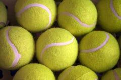 De ballen van het Tennis. Stock Fotografie