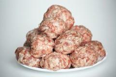De ballen van het vlees royalty-vrije stock foto's