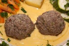 De ballen van het vlees Stock Foto's