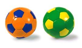 De ballen van het voetbal Royalty-vrije Stock Afbeelding