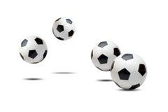 De ballen van het voetbal Stock Foto