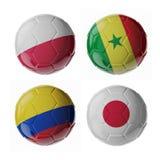 De ballen van het voetbalvoetbal Stock Afbeelding