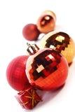 De ballen van Kerstmis stock afbeeldingen